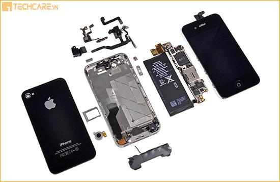 Cấu tạo Iphone 4s