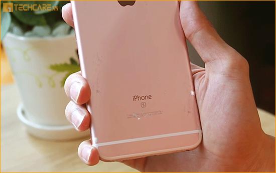 Thay vỏ Iphone 6, 6s bị tróc sơn
