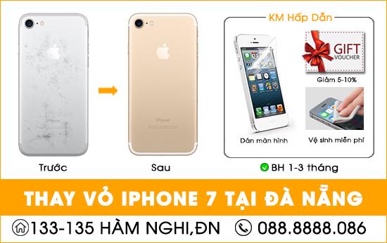 Thay vỏ Iphone 7 tại Đà Nẵng