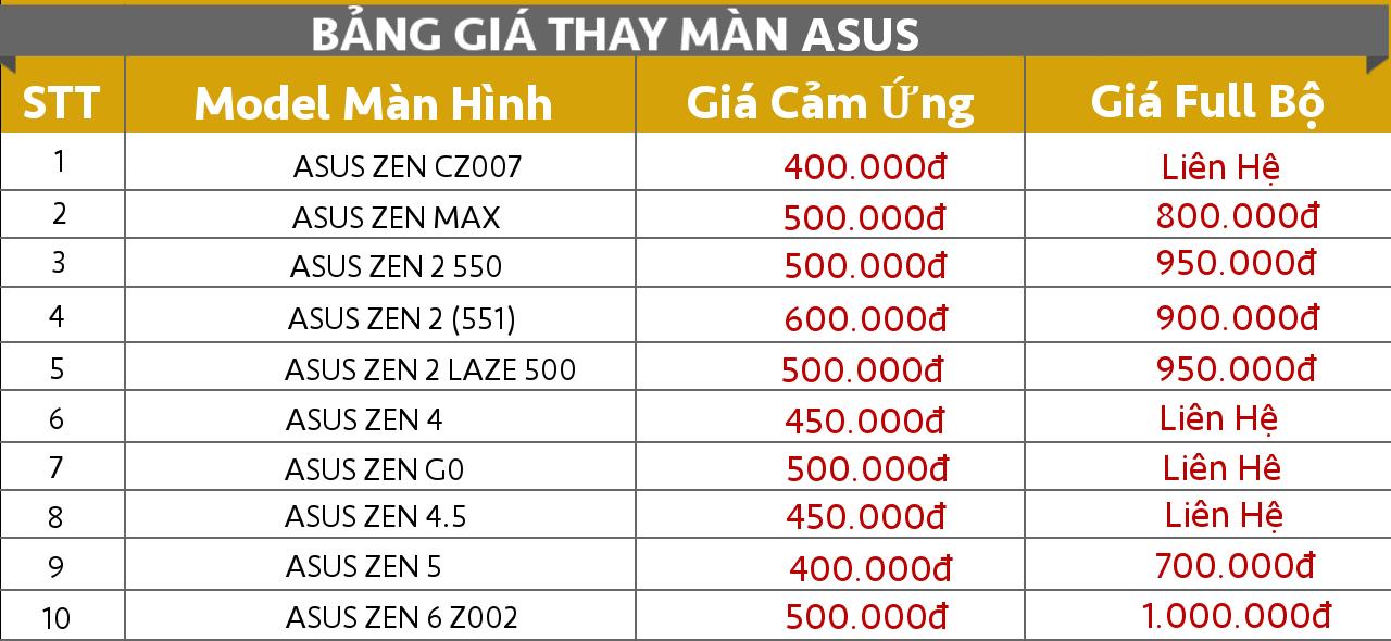 sửa điện thoại Asus giá rẻ Đà Nẵng