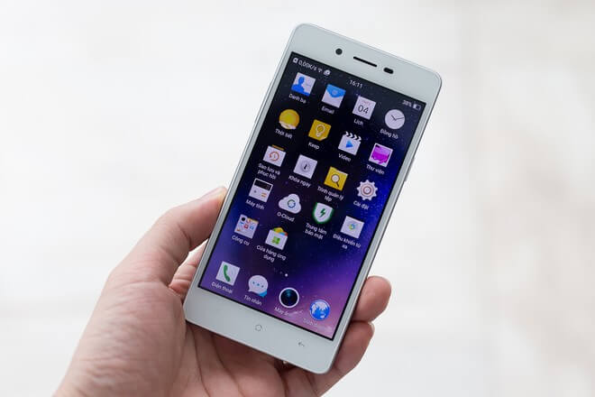 thay màn hình Oppo Mirror 5 lấy liền tại Đà Nẵng
