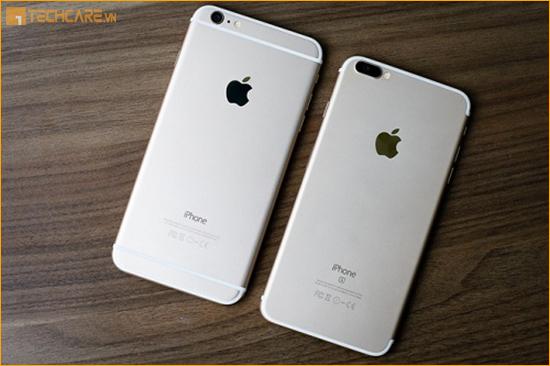 Độ vỏ Iphone 6 Plus lên 7 Plus tại Techcare Đà Nẵng