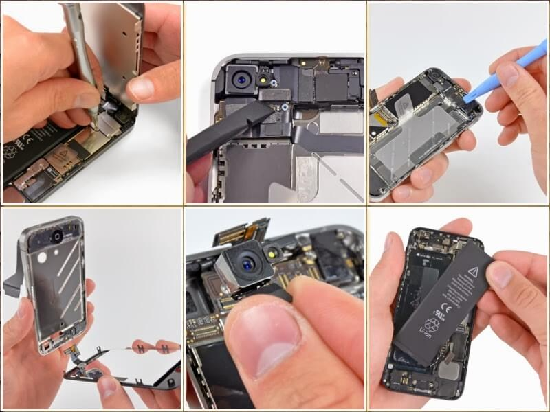 Thay Nút Nguồn IPhone 5 5S Giá Rẻ Đà Nẵng