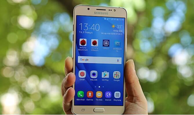 Thay mặt kính Samsung J7/J7 2016 Đà Nẵng