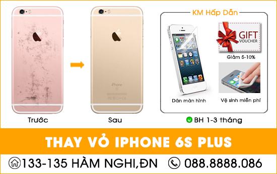 Thay vỏ Iphone 6s Plus tại Đà Nẵng