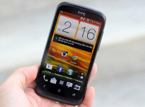 Techcare nhận thay mặt kính cảm ứng HTC Desire V chính hãng tại Đà Nẵng
