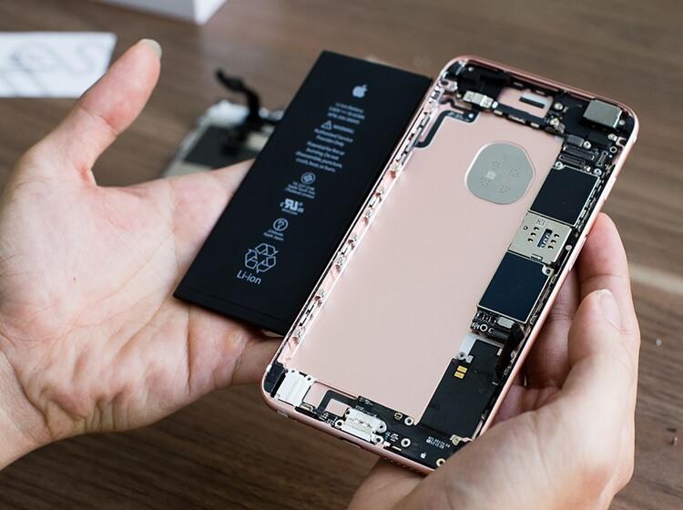 Thay Pin iPhone 6S uy tín tại đà nẵng