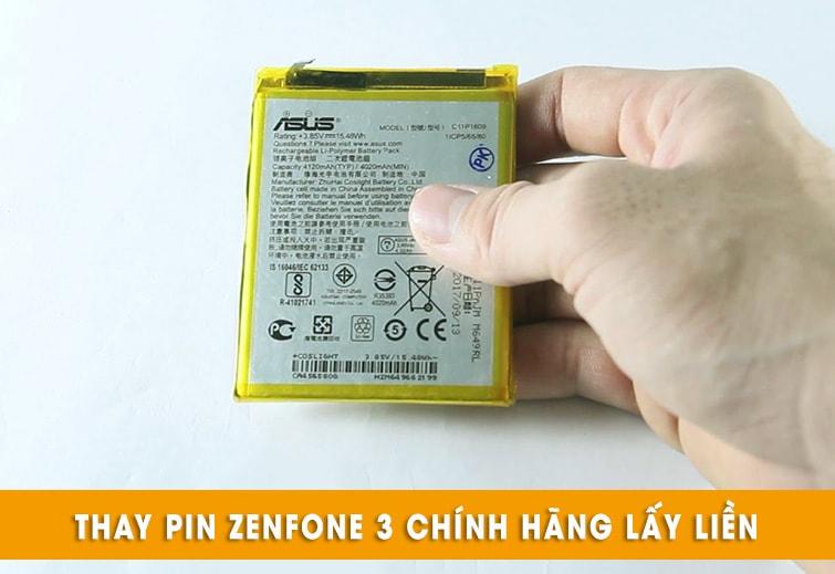thay pin zenfone 3