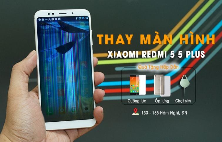 thay màn hình cảm ứng xiaomi redmi 5 plus