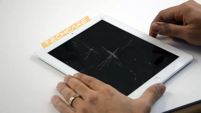 quy trình thay mặt kính Ipad