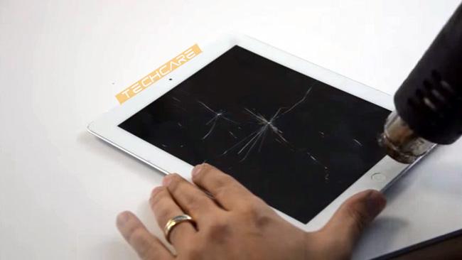 Quy trình thay kính Ipad