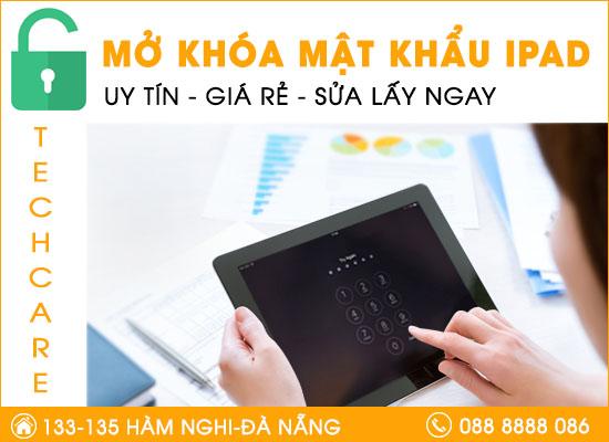 Mở khóa mật khẩu Ipad tại Đà Nẵng
