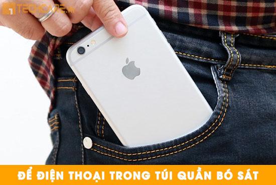 Nguyên nhân khiến Iphone bị cong