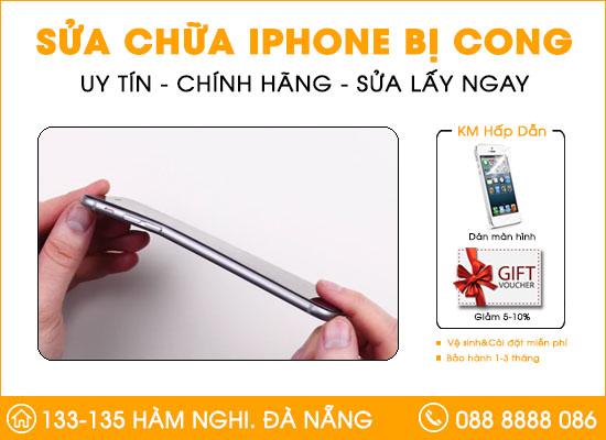 Sửa Iphone bị cong tại Đà Nẵng