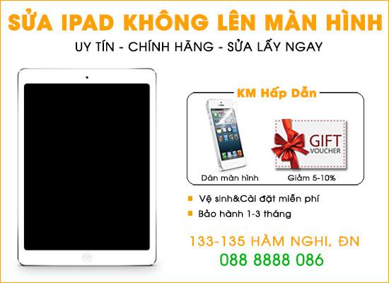 Sửa lỗi Ipad không lên màn hình tại Đà Nẵng