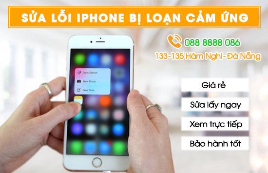 Sửa lỗi Iphone bị loạn cảm ứng tại Đà Nẵng