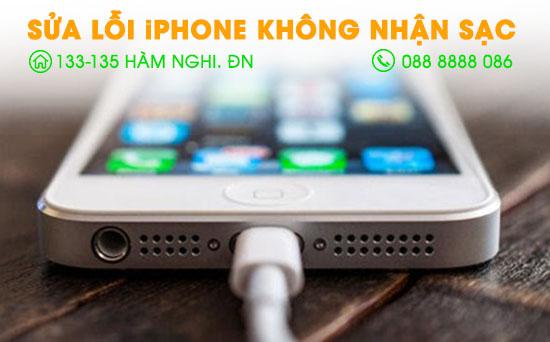 Sữa lỗi Iphone không nhận sạc tại Đà Nẵng
