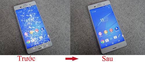 Thay cảm ứng điện thoại Sony khi nào?