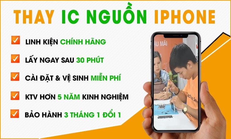 thay ic nguồn iphone giá rẻ đà nẵng