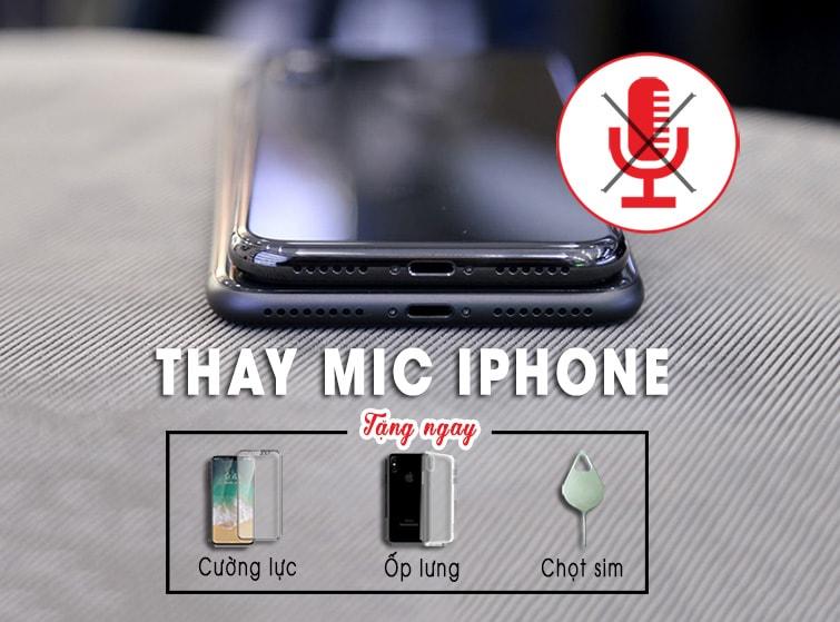 thay mic iphone tại đà nẵng