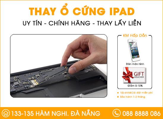 Thay ổ cứng Ipad tại Đà Nẵng