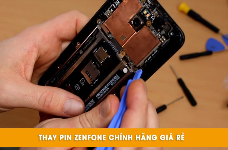 thay pin điện thoại zenfone giá rẻ đà nẵng