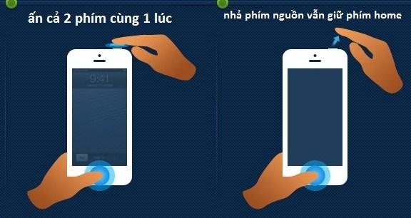 cách Reboot lại máy iphone