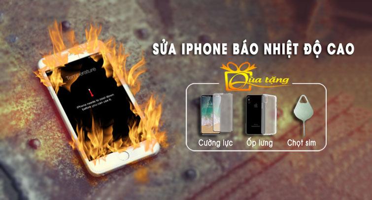 sửa iphone báo nhiệt độ cao tại đà nẵng