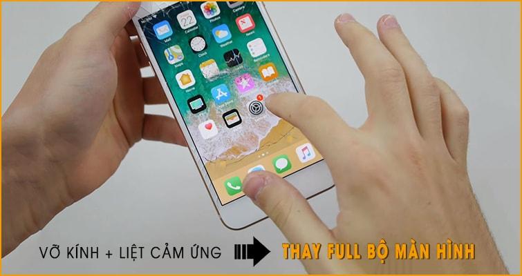 thay màn hình mặt kính iphone 8 tại đà nẵng