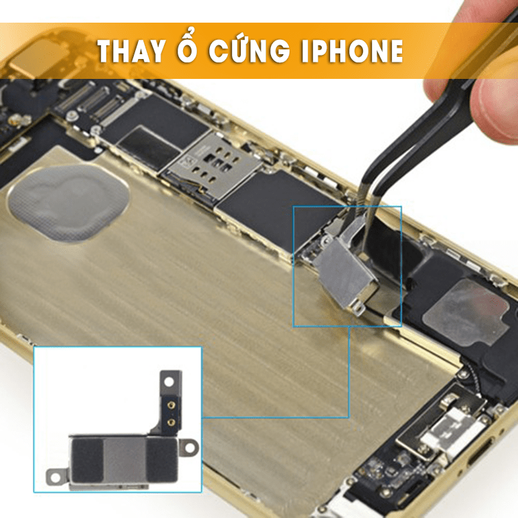 thay ổ cứng iphone tại đà nẵng