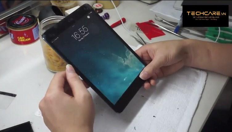 quy trình thay màn hình ipad tại techcare