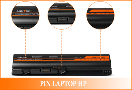 pin laptop hp