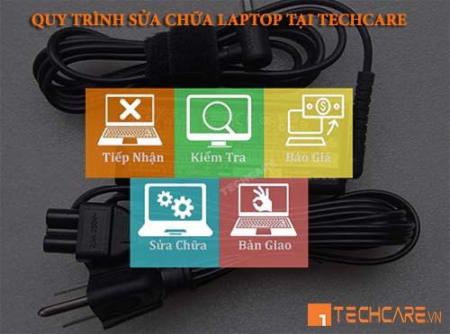 quy trình thay adapter sạc laptop sony