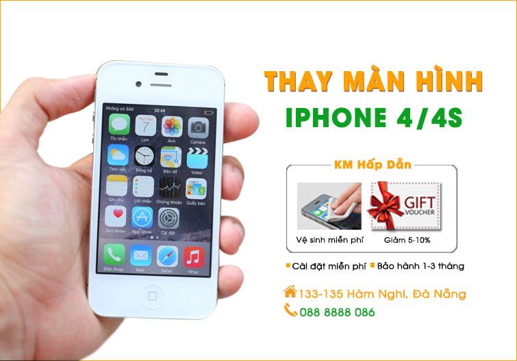 Thay màn hình Iphone 4/4s Đà Nẵng