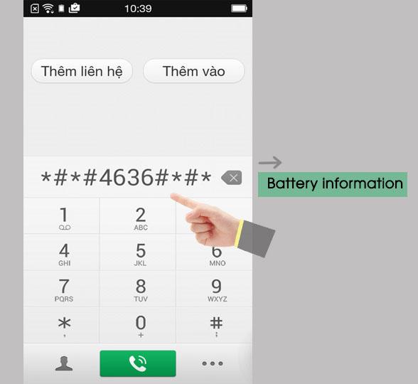 Cách kiểm tra dung lượng pin Android