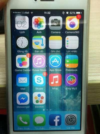 Khắc phục nhanh lỗi màn hình iphone 5 bị nháy liên tục