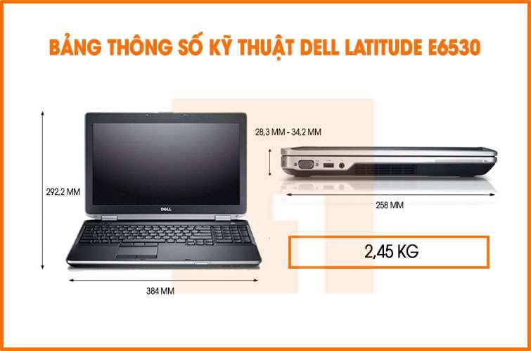 laptop dell e6530