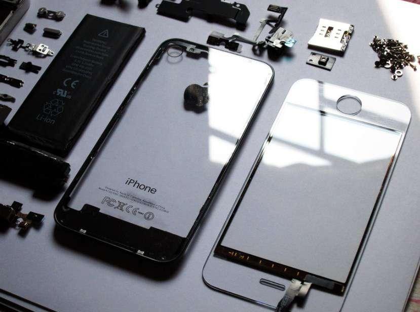 cách sửa màn hình iphone đen một góc