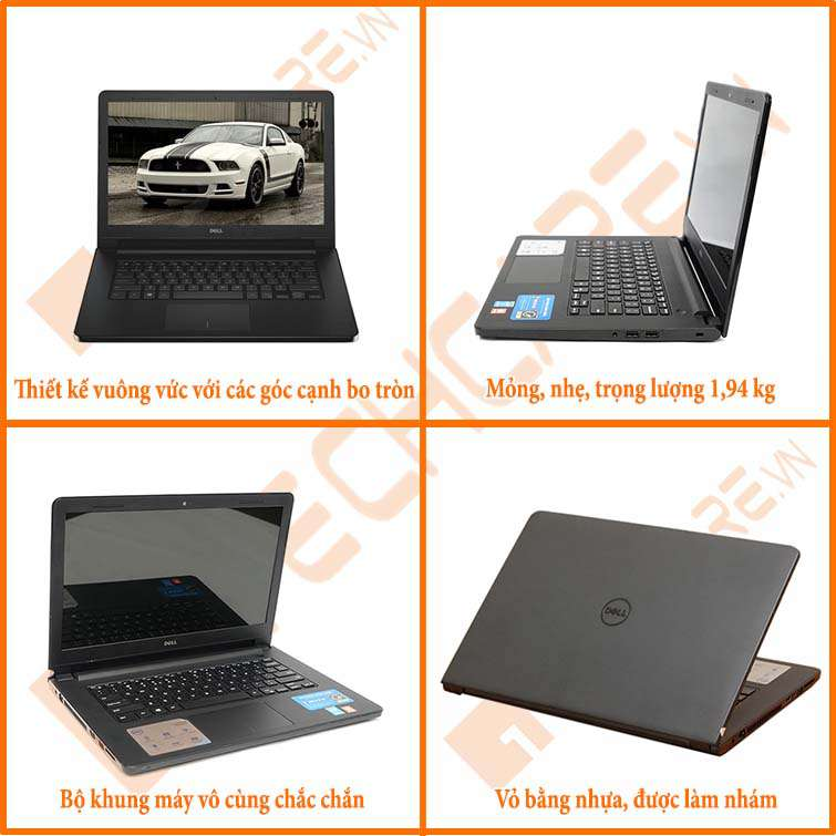 laptop dell n3458