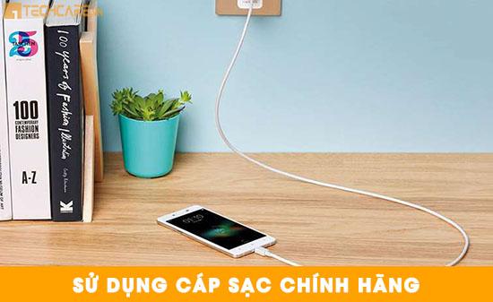 Sạc pin điện thoại đúng cách