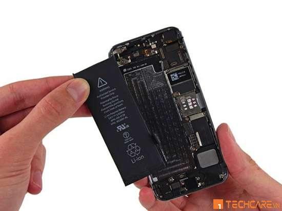Mẫu pin iphone 5 tại Techcare Đà Nẵng