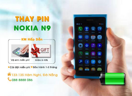 Thay pin Nokia N9 Đà Nẵng