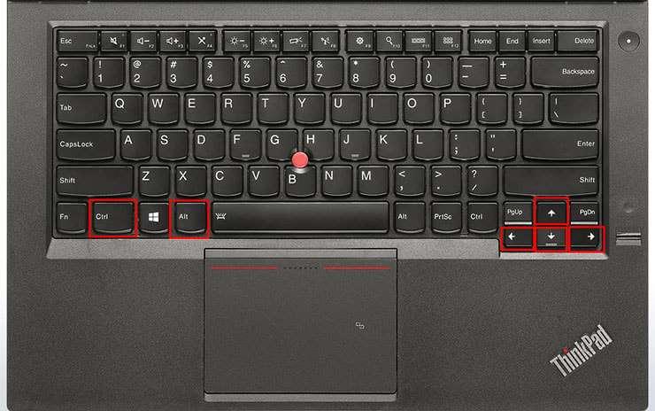 cách sửa màn hình laptop bị xoay ngang