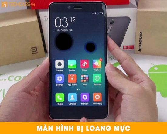 Cách sửa chữa màn hình Xiaomi Note 2 bị loang mực