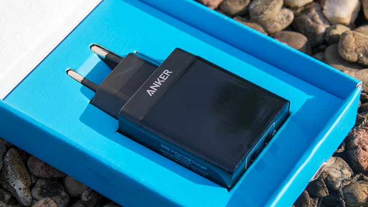củ sạc anker Dual Port 20W 2 Cổng USB