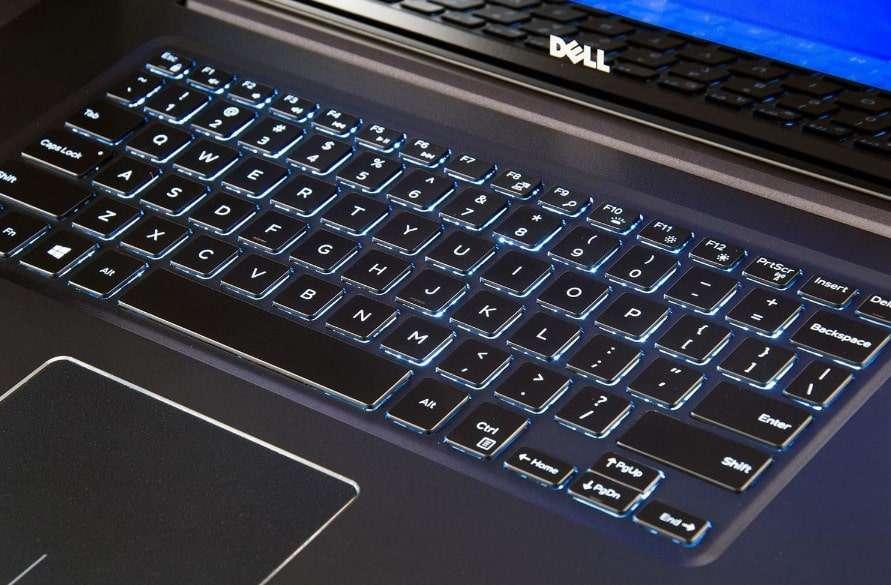 đánh giá bàn phím laptop dell