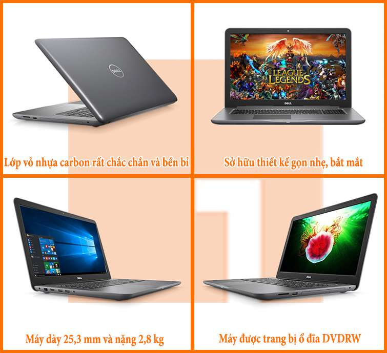 laptop dell 5767