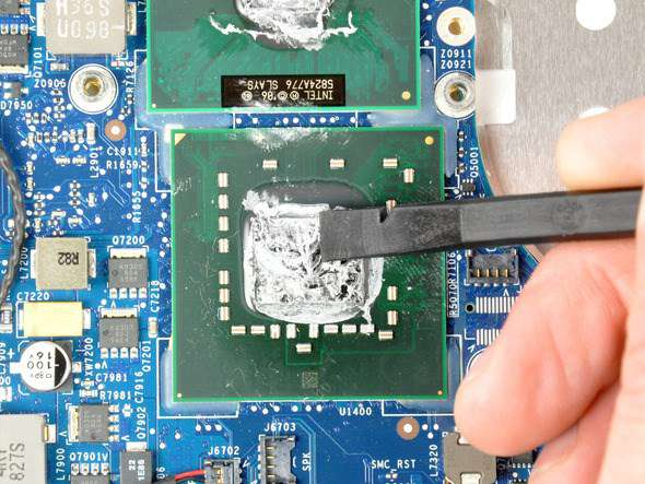 lỗi laptop sập nguồn do keo tản nhiệt khô