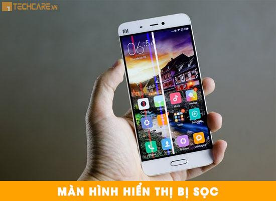 Thay màn hình Xiaomi Mi5 bị sọc