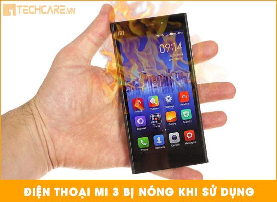 Thay pin Xiaomi Mi 3 bị nóng khi sử dụng